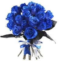 19 роз синих